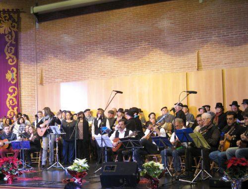 En el Centro San José, 9ª Muestra de Villancicos «Nuestra Tierra Canta en Navidad» con la participación de seis rondas.